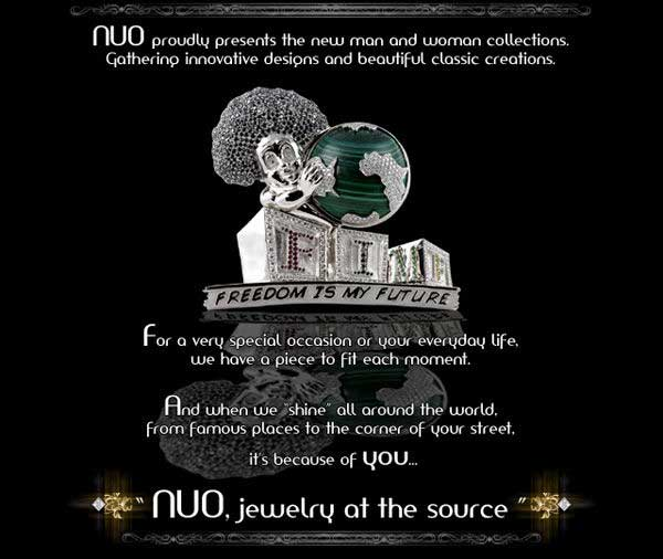 NUO, jewelry at the source: Presents New man and woman collections