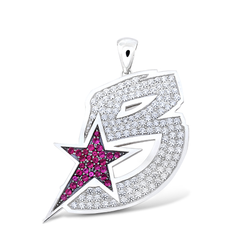The Game's BWS new Logo Pendant