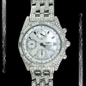 Swiss Watch with Diamonds