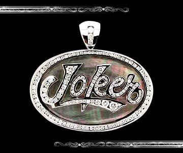 Joker Brand Pendant - Click Image to Close
